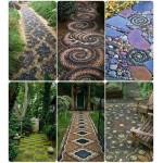 Садовая мозаика: как сделать дорожку своими руками (часть 1)