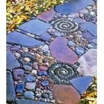 Садовая мозаика: как сделать дорожку своими руками (дорожка с мозаикой из камня) - часть 3