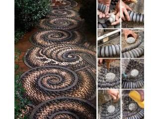 """Новая статья """"Садовая мозаика: как сделать дорожку своими руками"""""""