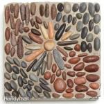 Садовая мозаика: как сделать дорожку своими руками (плитка с мозаикой из камня) - часть 2