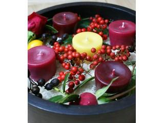 """Новая статья """"Новогодний декор из свечей: 10 идей для украшения праздника"""""""