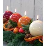 Новогодний декор из свечей: 10 идей для украшения праздника