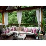 Дизайн двора: как организовать мебель для патио