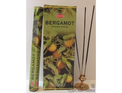 Благовония HEM Bergamot (Бергамот)