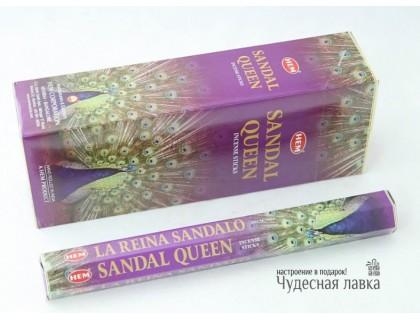 Благовония HEM Sandal Queen (Сандаловая королева)