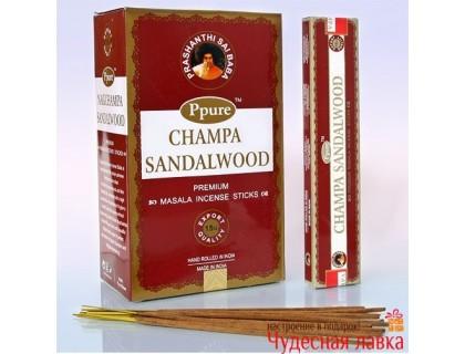 Благовония Ppure Sandalwood