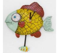 """Часы настенные  """"Рыба"""""""