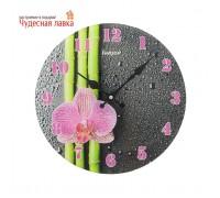 """Часы настенные Luason """"Бамбук и орхидея"""""""