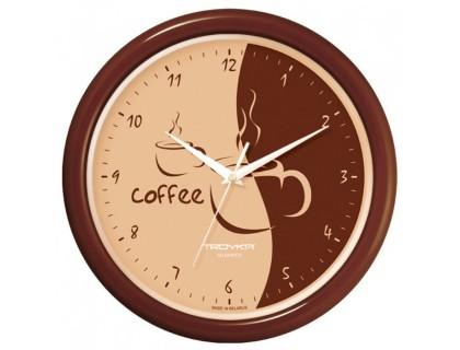 """Настенные часы Тройка """"Кофе"""""""