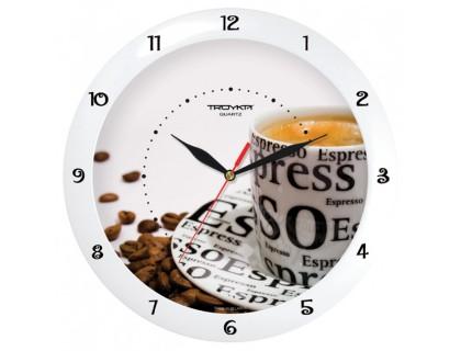"""Настенные часы Тройка """"Эспрессо"""""""