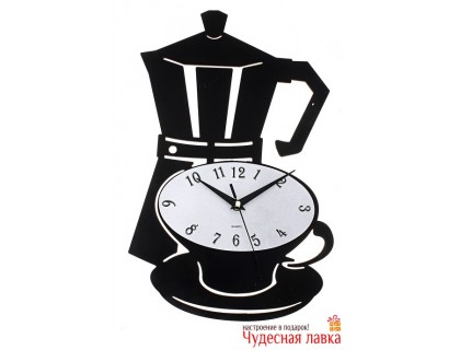 "Настенные часы Luason ""Кофейная пара"""