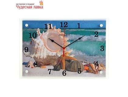 """Настенные часы Сюжет """"Морские звезды"""""""