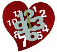"""Часы настенные """"Сердце"""""""
