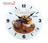 """Часы настенные Luason """"Сладкий завтрак"""""""