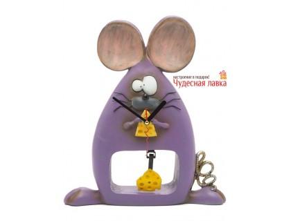 Часы «Все мыши любят сыр» настольные