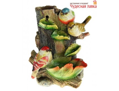 """""""Три птички"""" настольный фонтан"""