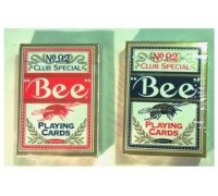 """Карты для покера пластиковые """"BEE"""" 1 колода карт"""