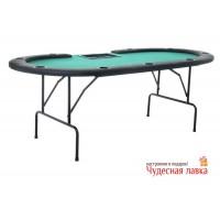 Стол для покера складной на 9 игроков