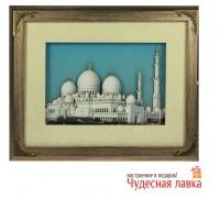 """Ключница 3D """"Мечеть шейха Зайда в Абу-Даби"""""""