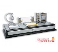 Офисный настольный набор на 5 предметов 41 × 21 ×17 см