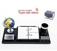 Офисный настольный набор на 5 предметов 38 × 17,5 × 16 см
