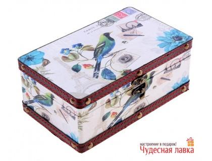 """Шкатулка деревянная """"Соловей"""""""