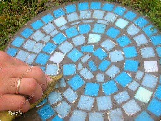 Садовая мозаика своими руками. Для дачников. ру 21