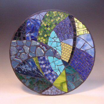 Плитка с мозаикой на бетоне