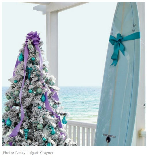 Новогодняя елка море