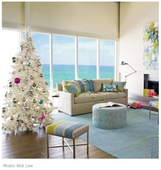 Елка белая Море Новый год