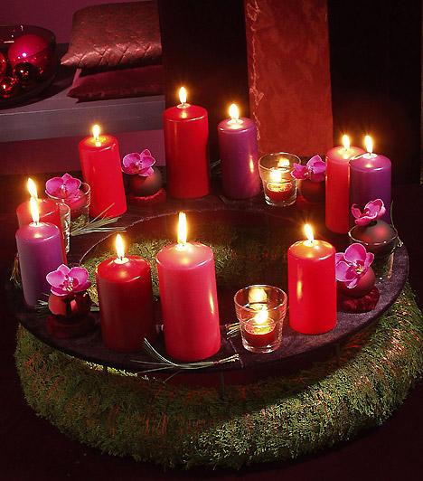 Как эффектно создать новогодний декор со свечами