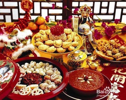 Кухня китайского Нового года