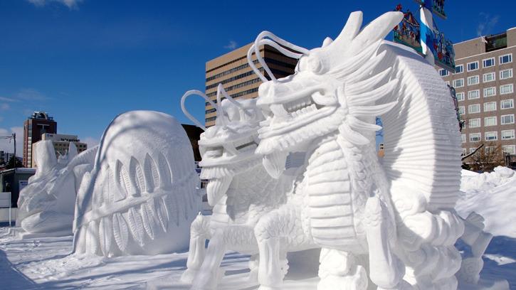Снежный фестиваль в Саппоро, Япония