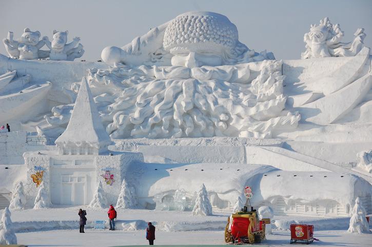 Харбин. Ледовый фестиваль